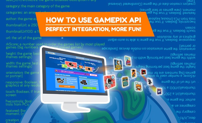 How to integrate HTML5 games with GamePix API SYSTEM