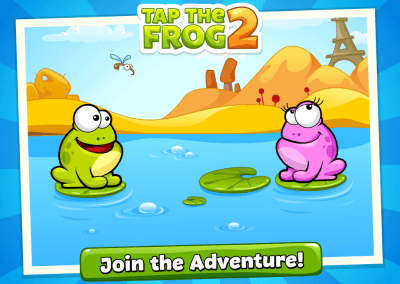 Tap the Frog HTML5 screenshot 1