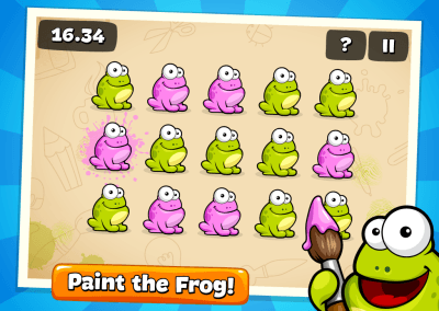 Tap the Frog HTML5 screenshot 2