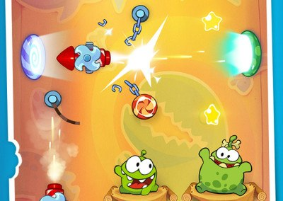 Cut The Rope Time Travel HTML5 screen 2