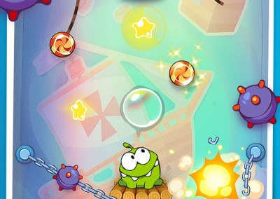 Cut The Rope Time Travel HTML5 screen 3