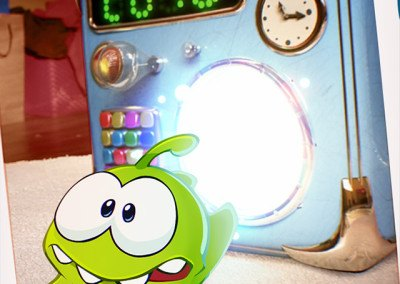 Cut The Rope Time Travel HTML5 screen 4