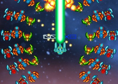 Galaga Special Edition HTML5 - GamePix - screenshot 3