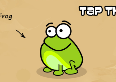 Tap the Frog Doodle HTML5 -banner_1200x400