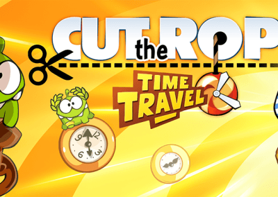 Cut The Rope Time Travel HTML5 promo 1