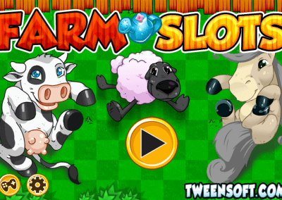 Farm Slots HTML5 game on GamePix