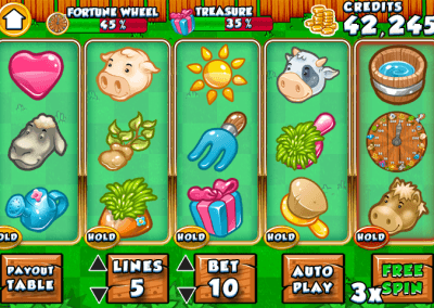 gameFarm Slots HTML5 game on GamePix 1