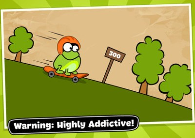 Tap the Frog Doodle HTML5