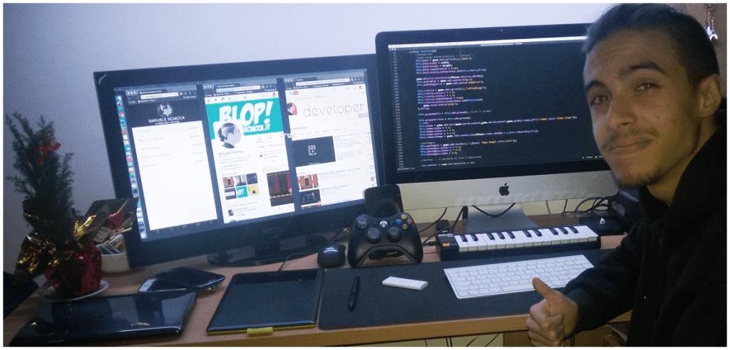 Samuele Sciacca, HTML5 game developer
