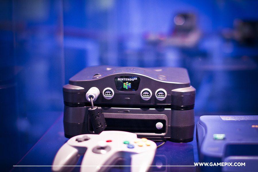 Nintendo 64 videogames console