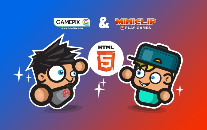 Miniclip and GamePix to make HTML5 gaming grow together