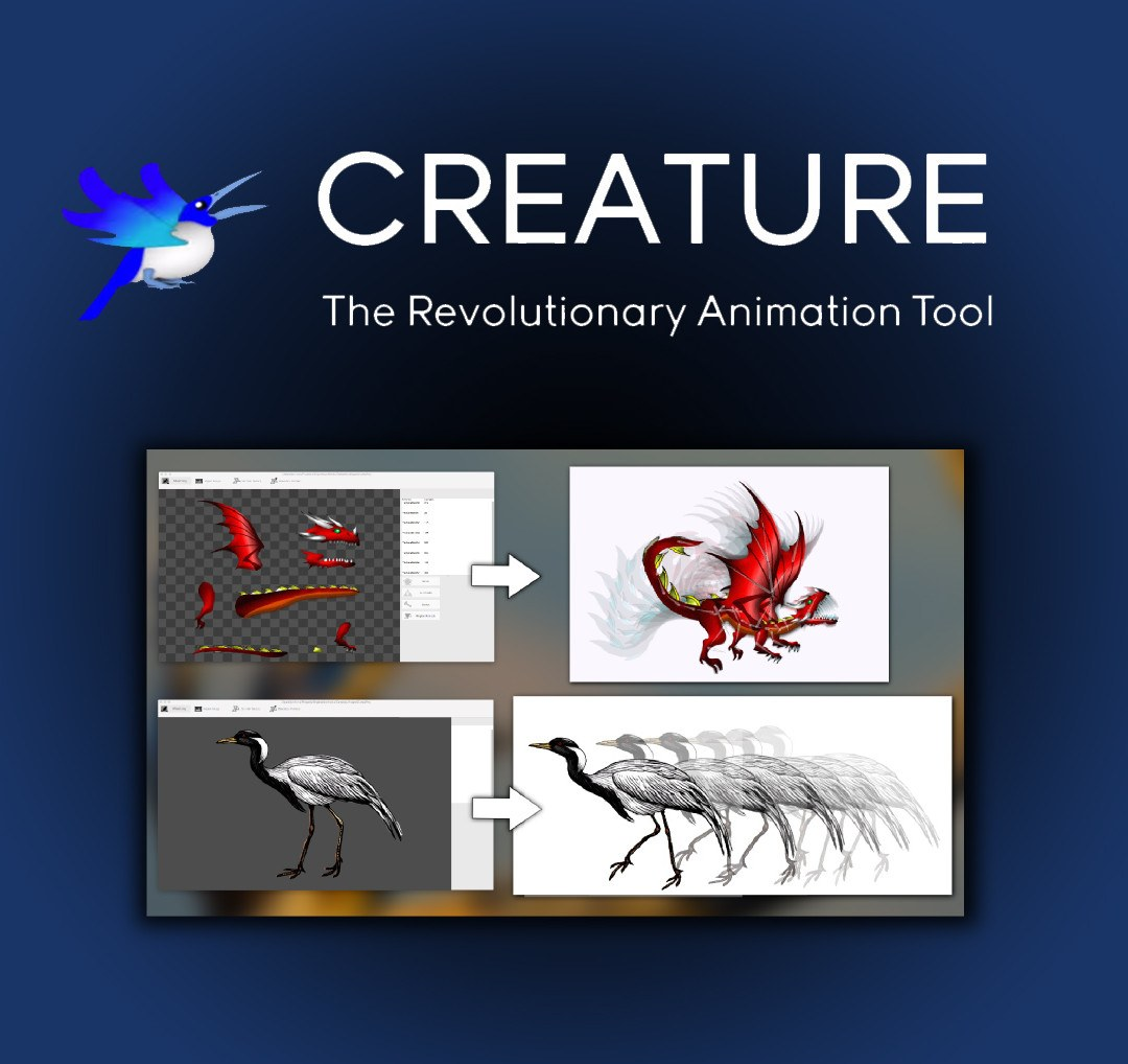 Creature: Advanced 2D Skeletal Animation Tool for HTML5