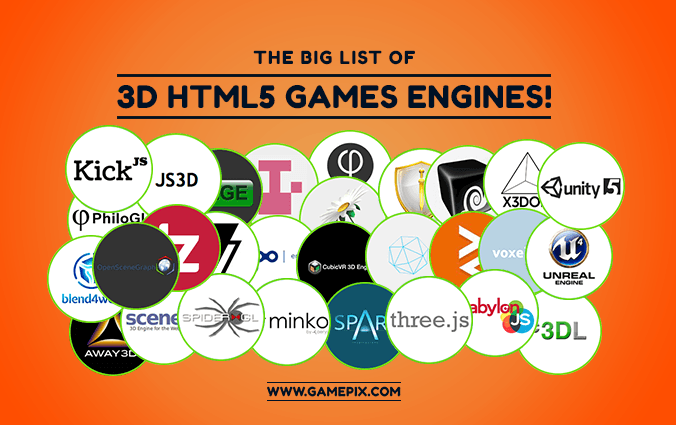 The Big List of HTML5 3D Games Engines