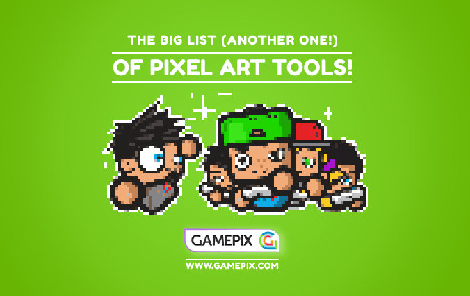 The BIG LIST of Pixel Art tools to create sprites for your HTML5 games