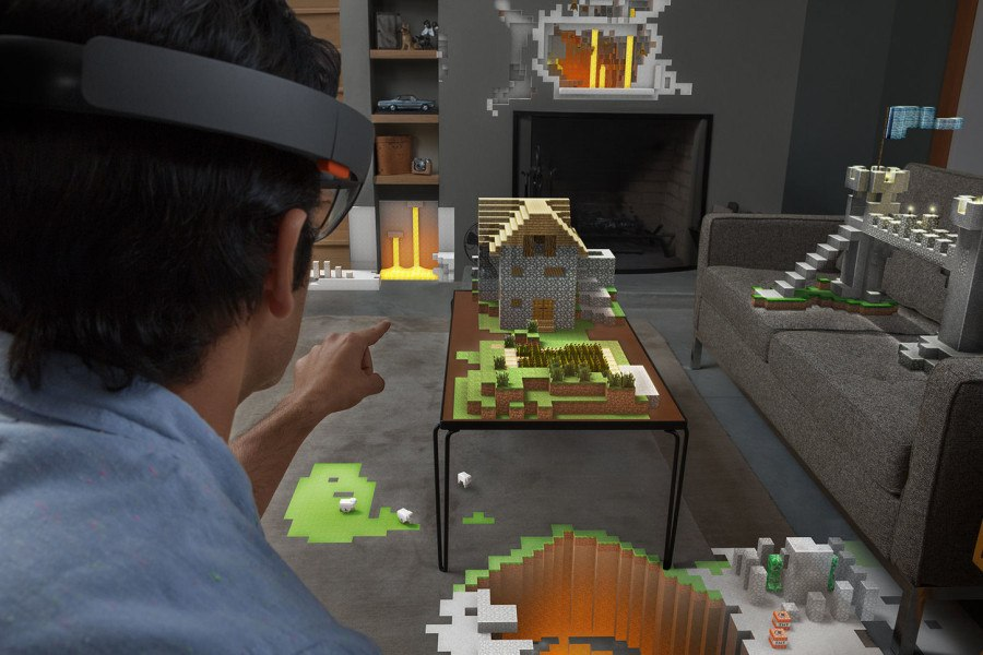 Hands on Hololens games
