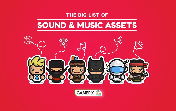 The big list of sound and music assets for your HTML5 game