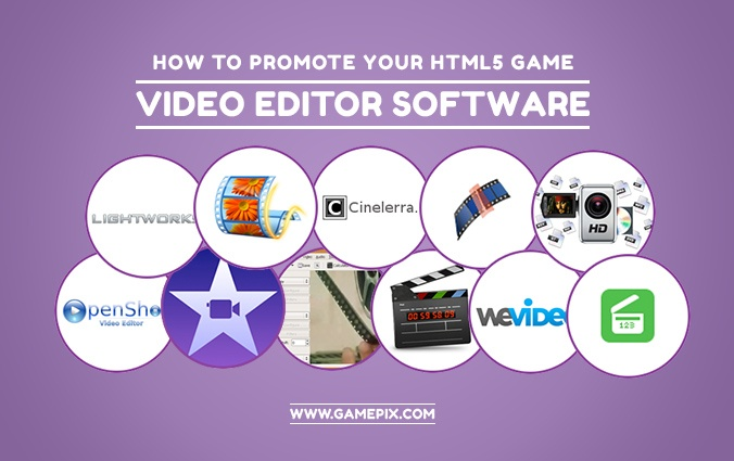 The big list of free Video Editor software to promote your HTML5 game