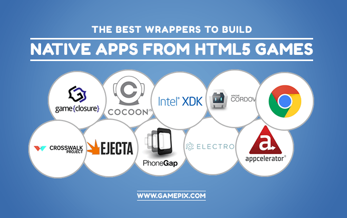 The best wrappers to build native apps from HTML5 games