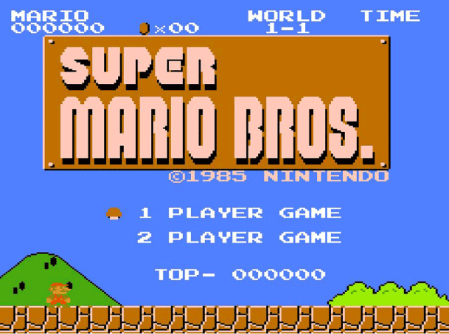 Super Mario Bros is 30 years old! Happy b-day!