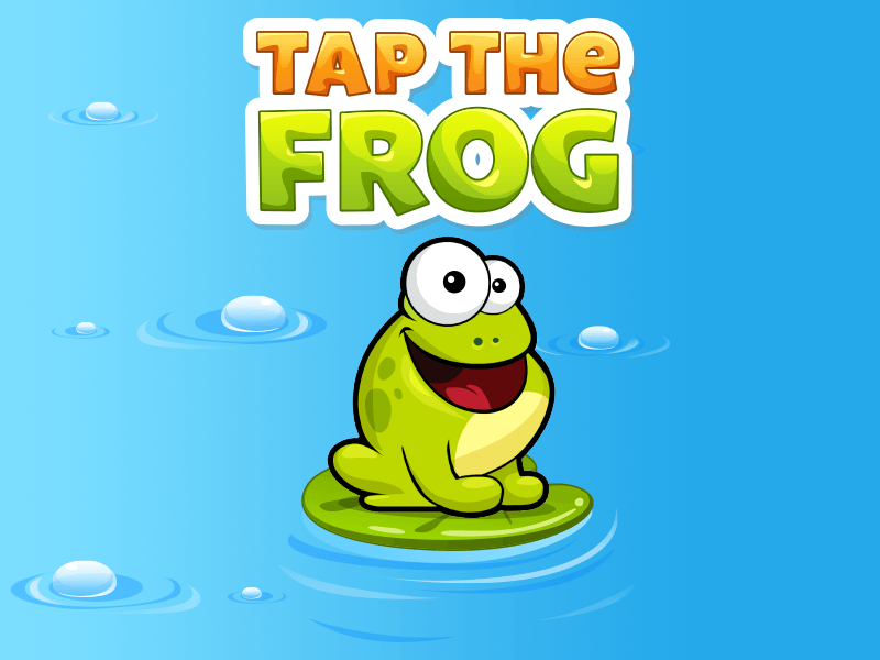 Tap the Frog HTML5 is live! Exclusively distributed by GamePix!