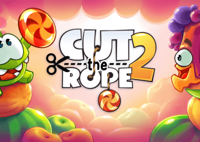 Cu the Rope 2 HTML5 banner