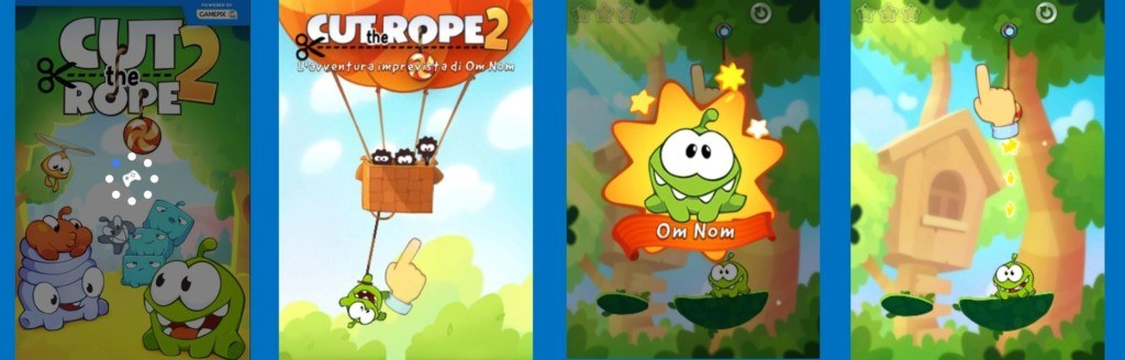 Best Instant Game HTML5 Cut the Rope 2