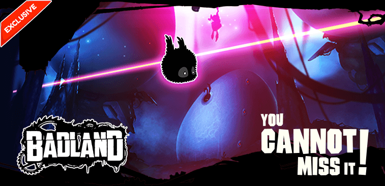 Frogmind & GamePix bring  BADLAND on the web with HTML5