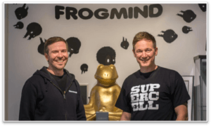 Frogmind and Supercell